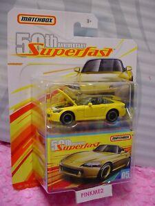 2019-Matchbox-Superfast-039-04-Honda-S-2000-05-Giallo-50esimo-Anniversario