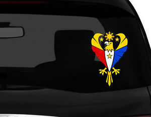 REUNION #2 COUNTRY VINYL FLAG DECAL STICKER