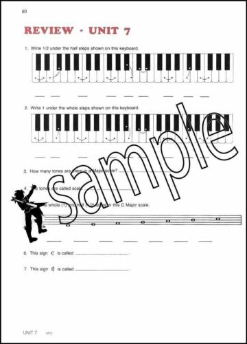 The Older Beginner Piano Course Level 1 Sheet Music Book Method Learn To Play