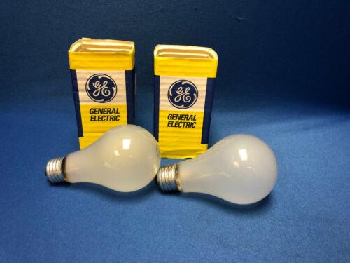 GE 40886 BAH 300W 115V Standard Base Light Bulb Photography//Photoflood *LOT OF 2