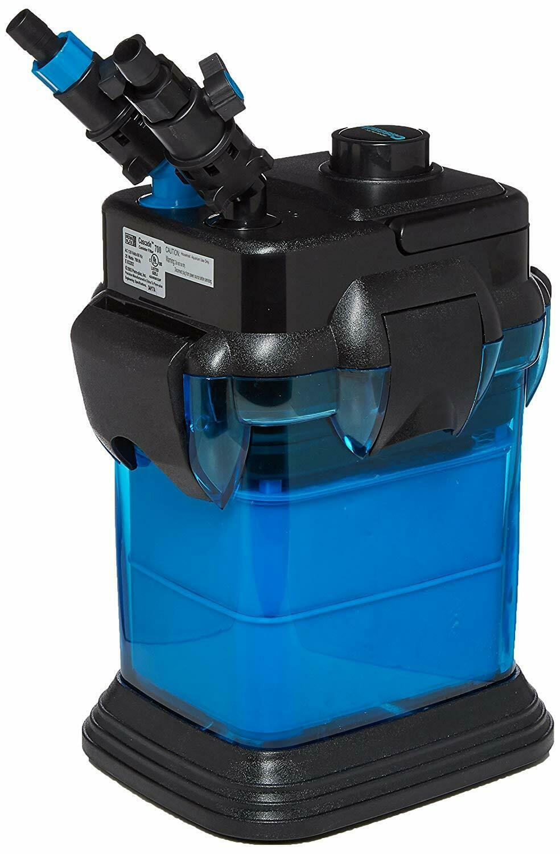 Penn Plax Cascade 700 Canister Aquarium Filter 65 Gallon Tank 185 GPH