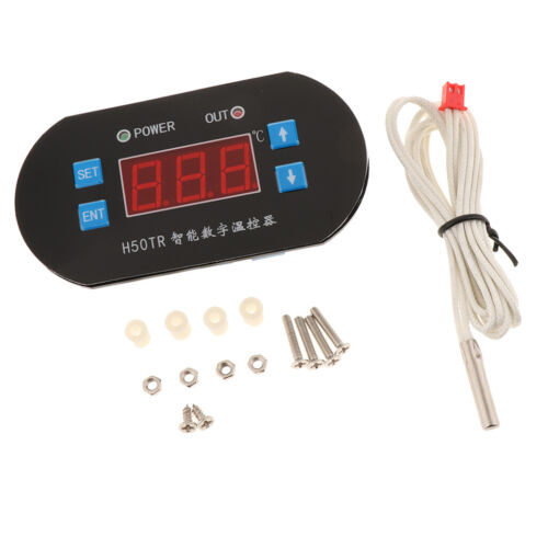 Digitaler Temperaturregler Thermostat Controller mit Sensorsonde Direkt im