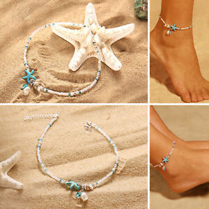 Fashion Jewelry Anklets Nice Women Ladies Anklet Red Silver Ankle Bracelet Festival Beach Jewellery Al76
