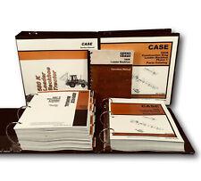 Case 580k Backhoe Loader Tractor Phase 1 Service Parts Operators Manual Shop Set