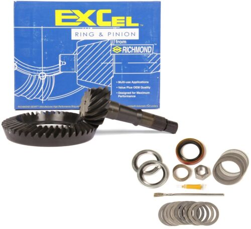 """GM 8.875/"""" Chevy 12 Bolt TRUCK 3.73 THICK Ring and Pinion Mini Excel Gear Pkg"""