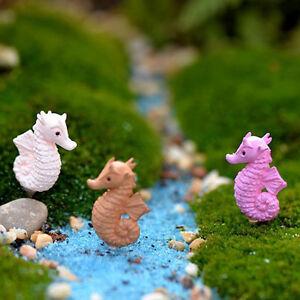 3x-Miniature-Dollhouse-Bonsai-Fairy-Garden-Landscape-Lovely-Seahorse-Decor
