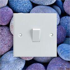 Pebbles/Rocks Pattern Electrical Light Switch Surround Printed Vinyl Sticker