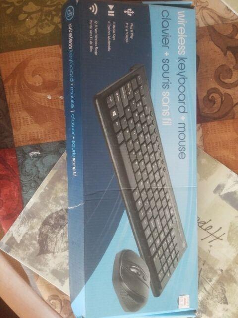 Digital Wireless Keyboard + Mouse 32.8 Wirelessly Range