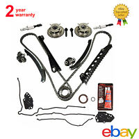 Timing Chain Cam Phasers Kit For 5.4l Triton 3v Ford F150 F250 Lincoln Navigator
