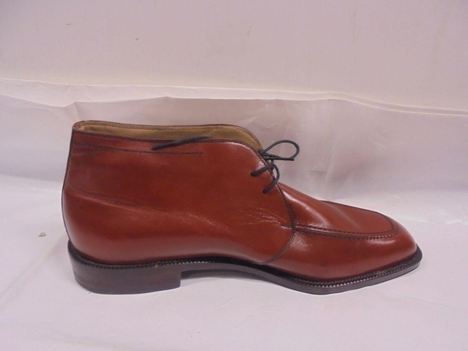 Herry Sax Herrenschuhe Herrenschuhe Herrenschuhe braunem Leder antiqued Made in  Handwerk kostbare 873cd7
