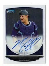 NICK CIUFFO MLB 2013 BOWMAN CHROME DRAFT DRAFT PICK AUTOGRAPHS (TAMPA BAY RAYS)