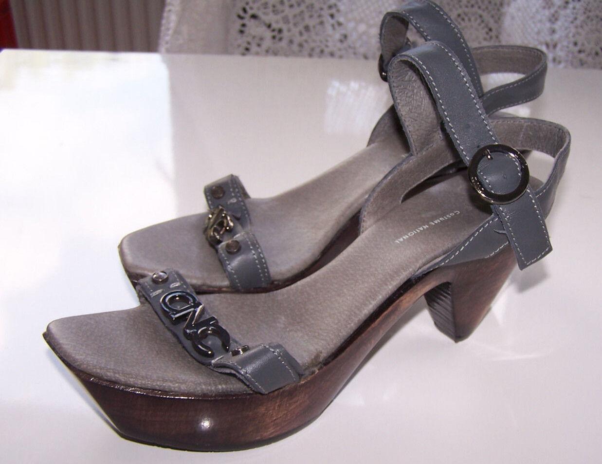 CNC Costume National Sandale Super schicker Damen Schuhe Sandale National Neu ungetragen 460d8e