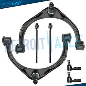Front-Upper-Control-Arms-Inner-Outer-Tie-rods-for-2009-2010-2011-2012-Ram-1500