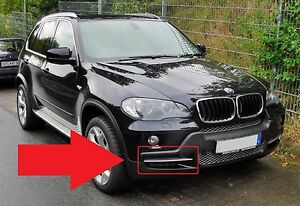 Bmw X5 E70 2007 2010 New Genuine Front Bumper Os Right Grill With