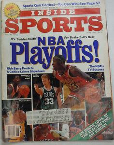 Inside Sports Magazine Michael Jordan & Larry Bird June 1987 052315R