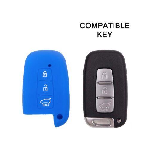 Guscio per Telecomando Hyundai IX20 IX35 Keyless-Entry Cover Chiave in Silicone
