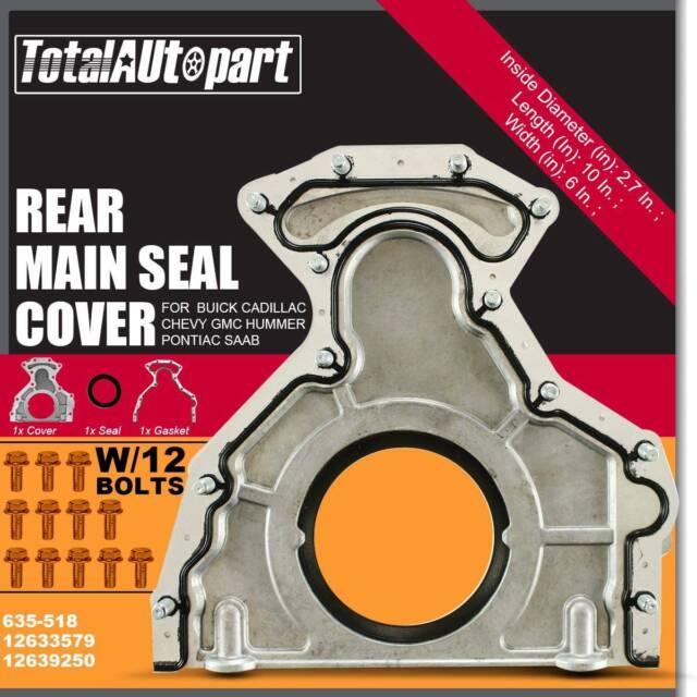 Rear Main Seal Kit For Chevy Silverado Express Suburban