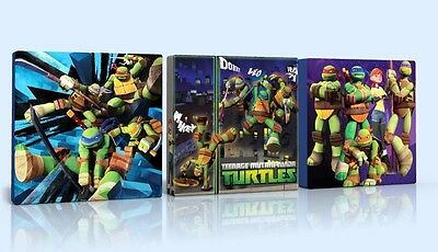 3 X DEEP EDGE CANVAS PICTURES TEENAGE MUTANT NINJA TURTLES TMNT  FREE P&P  NEW