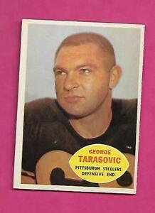 1960-TOPPS-100-STEELERS-GEORGE-TARASOVIC-NRMT-CARD-INV-C0529