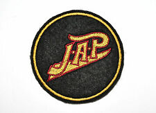 CLASSIC 2 COLOUR  J.A.P EMBROIDERED MOTORCYCLE PATCH