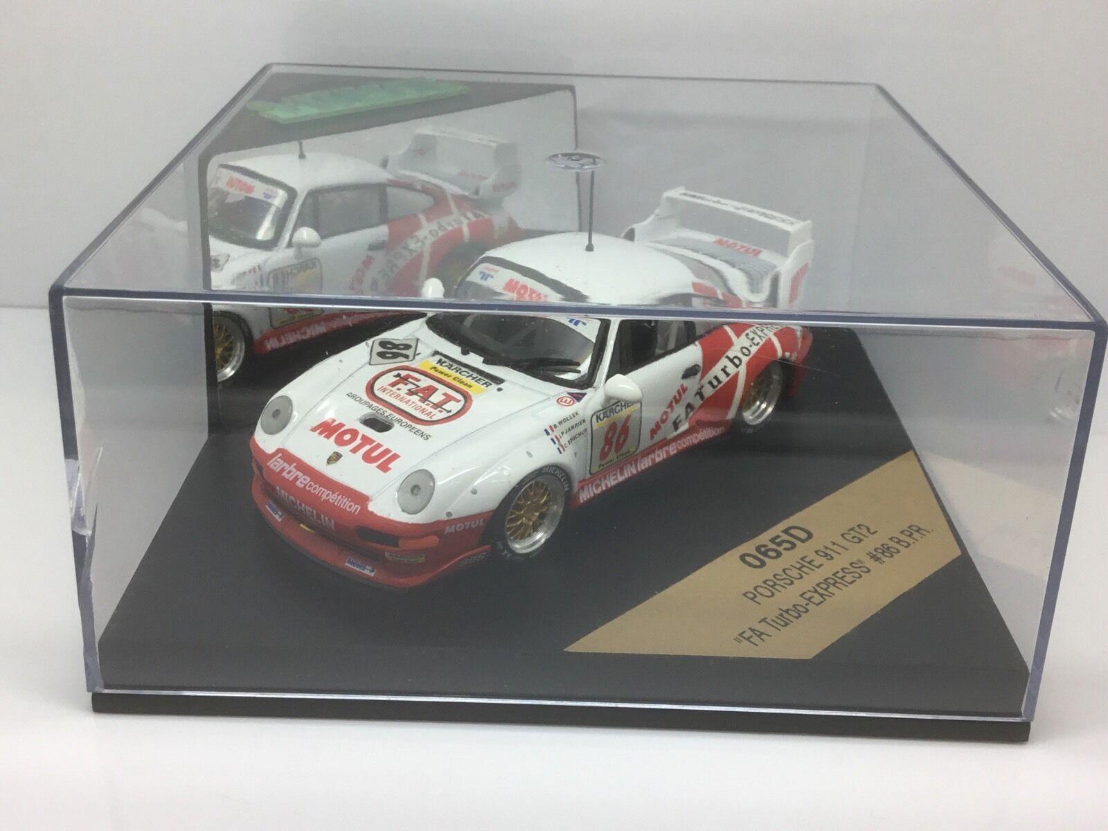 Vitesse Models 1 43 Scale Scale Scale 065D Porsche 911 GT2 FA TURBO EXPRESS 7c51c7