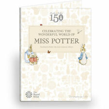 Royal Mint 2016 Beatrix Potter 50p Coin Album Folder Brand New Peter Rabbit