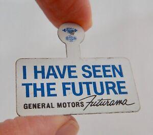 General Motors Futurama Vintage Advertising Pin - 82752