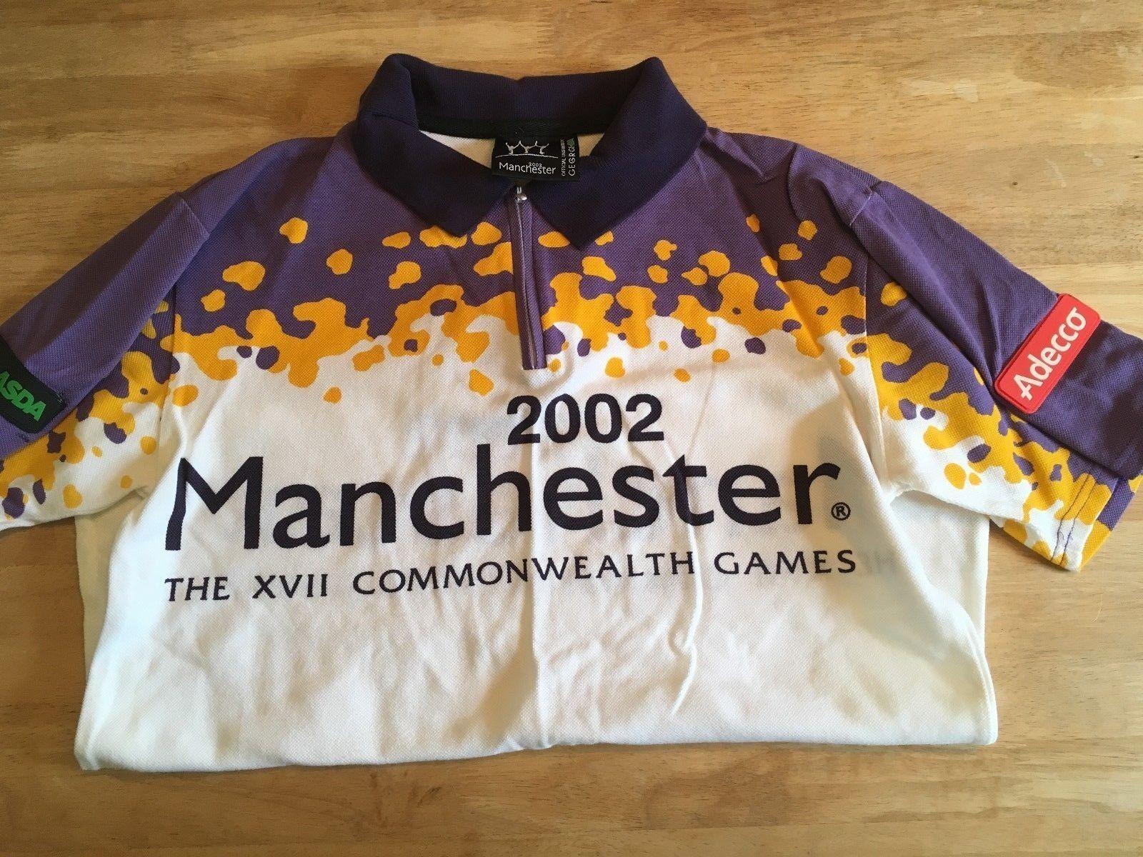 2002 Juegos de Commonwealth de Manchester Camiseta de voluntarios Chándal Pantalones Set