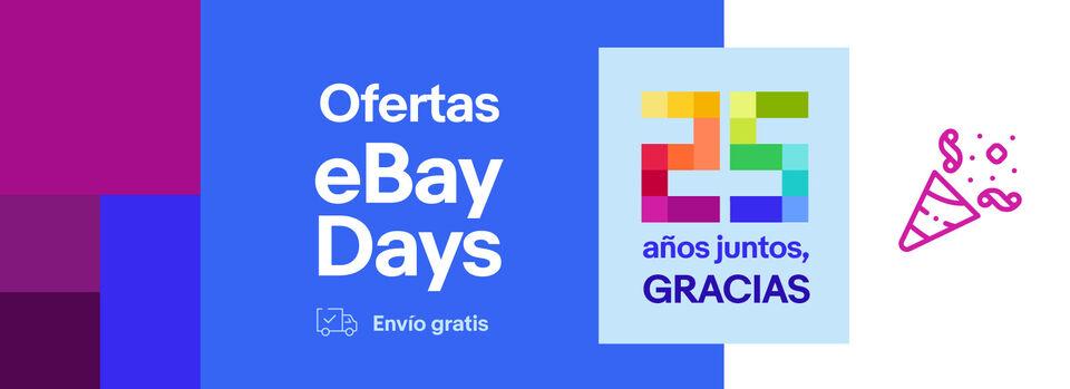 Ver ofertas - eBay Days: cupón -5%*, ¡gracias!