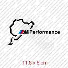 Nurburgring BMW M Performance car sticker decal vinyl - Black
