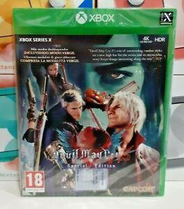 Devil May Cry 5 - Special Edition XBOX Series X NUOVO SIGILLATO ITA