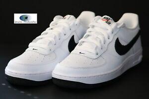 a48b9be02aa Nike Air Force 1 White Black-Team Orange (GS) 596728 182 Size 6.5Y ...