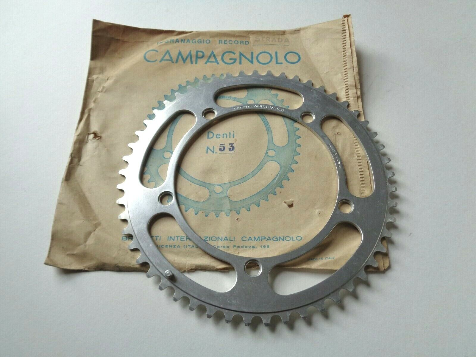 NOS  Vintage 1970s Campagnolo Nuovo Record 53T strada chainring - 144BCD ()  more discount