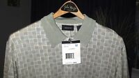 Claiborne Short Sleeve Knit, Beige, $59.50 Retail (men's M)- With Tags