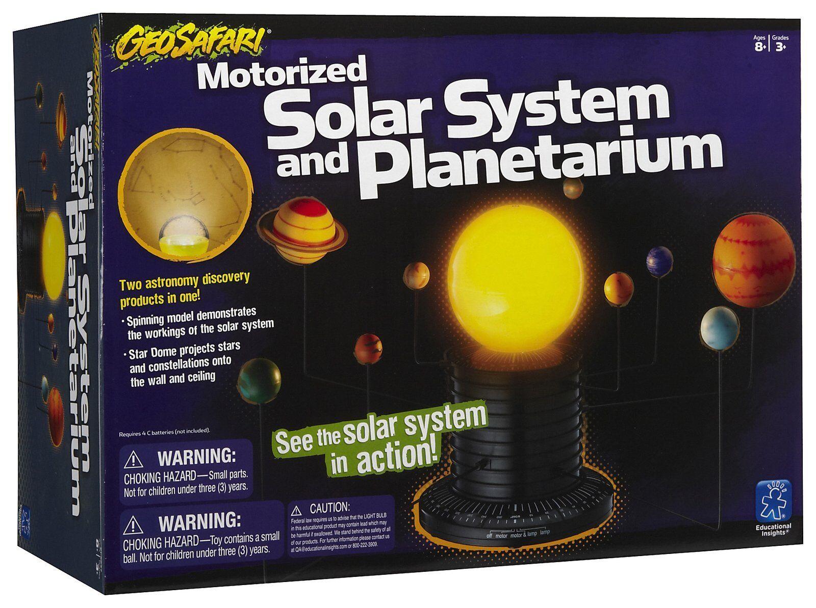 GeoSafari Motorizado Sistema Solar By Recursos Aprendizaje Educativo Astronomía