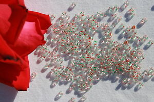 6-0-Czech-Seed-Beads-Crystal-2-red-2-green-stripe-1oz