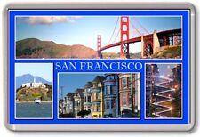 FRIDGE MAGNET - SAN FRANCISCO - Large - USA TOURIST 4