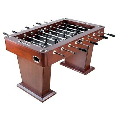 New Millennium NG2035 55 In Foosball Soccer Game Table Brown With Score  Sliders 672875915255 | EBay