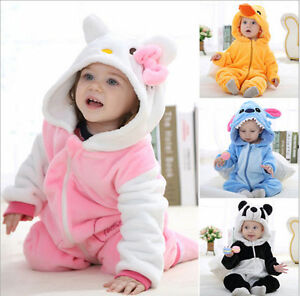 446ca0887493 Baby Boy Girl WINTER WARM Birthday Fancy Party Costume Dress Outfit ...