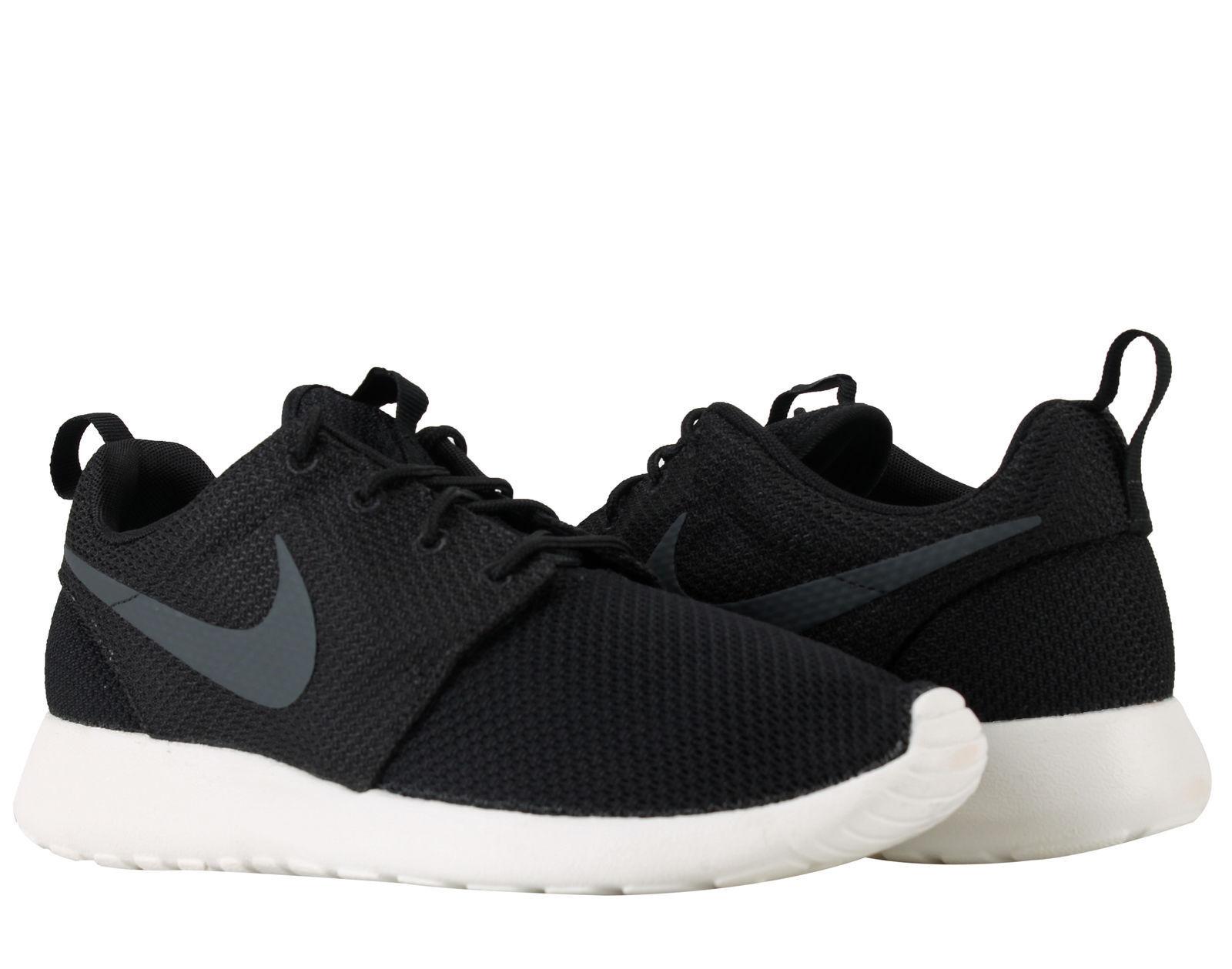 Men's Nike Roshe One Black/Anthracite-Sail Sizes 8-12 New In Box 511881-010