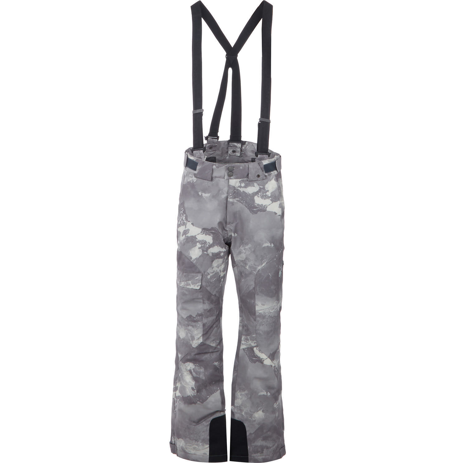 SPYDER Men's Axel Full Side Zip  Pants Grey Camouflage - sizes S M L - rrp  hot sale