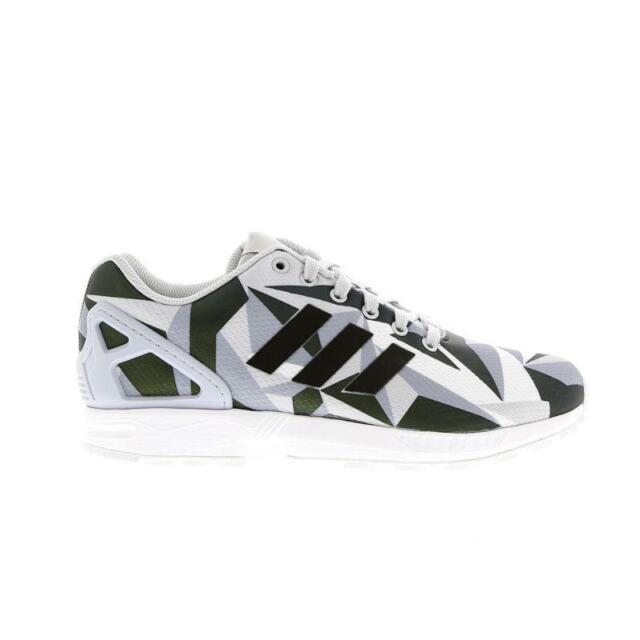 08cce9a63da22 Mens adidas ZX Flux XENO Black White Trainers AQ4537 UK 7.5   EUR 41 ...