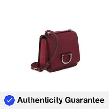 Burberry The Small Leather D-ring Crossbody Bag in Crimson 8008303