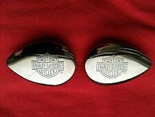 Original Harley Davidson Embleme Rahmen Packtaschen Sattel Lederjacke Lederweste