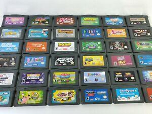 Nintendo GBA Games U Pick Choose Cart Only Fun Rare Family Action Racing