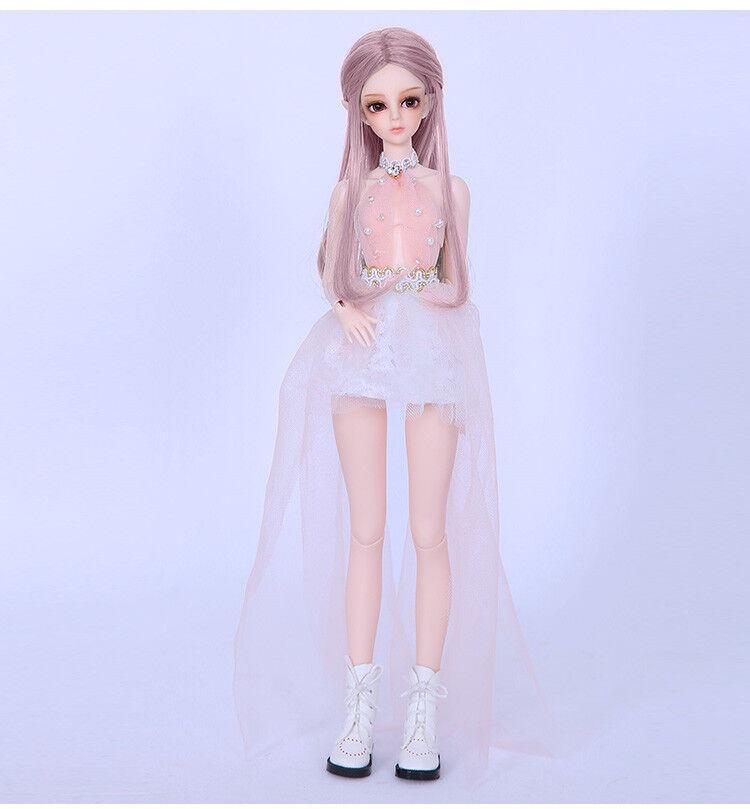 1 6 BJD SD muñeca de la muñeca para Soom Asis libre de cara maquillaje + Gratis Ojos-versión humana