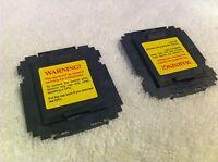 50 Pcs Foxconn Intel Lga1366 Cpu Socket Protector Cover ,original Part,yellow