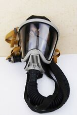 Msa Ultra Elite Firefighter Full Facepiece Respirator Air Mask Size M With Hose