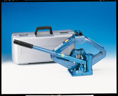 Scherenwagenheber hydraulischer  Wagenheber 1 t im Aufbewahrungskoffer