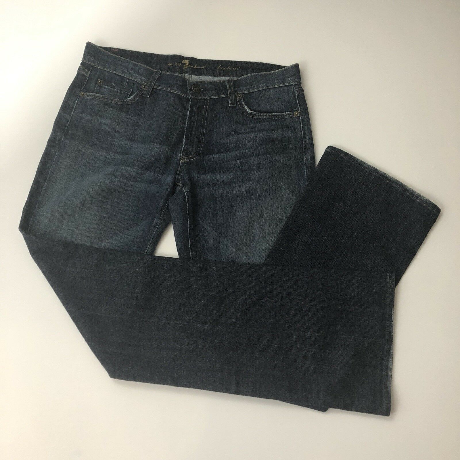 NWOT 7 For All Mankind Bootcut Jeans Size 31